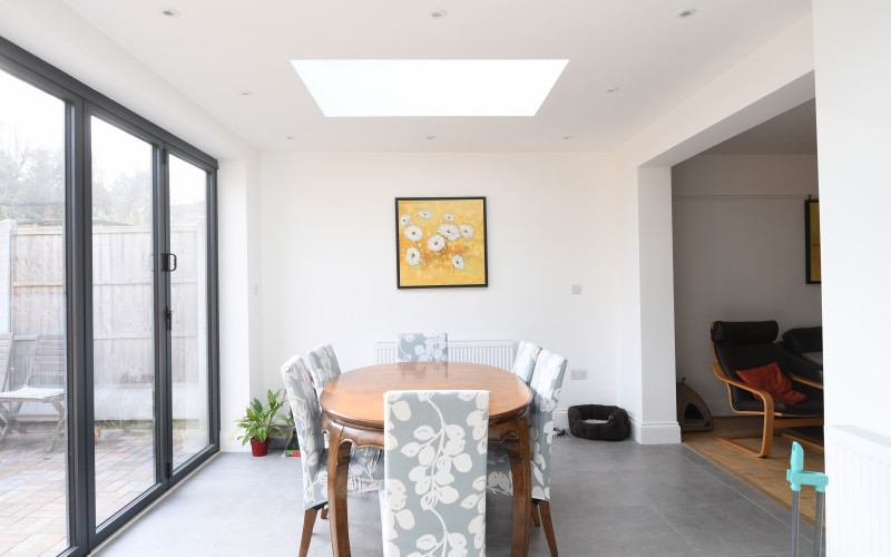 Rear house extension in Streatham, SW16