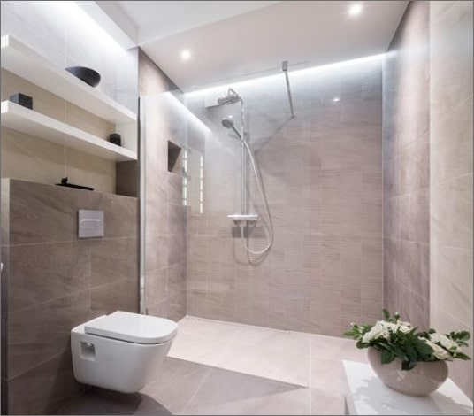KITCHEN AND BATHROOM FITTING, TILING